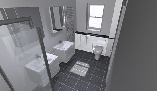 Applegate - Master ensuite view