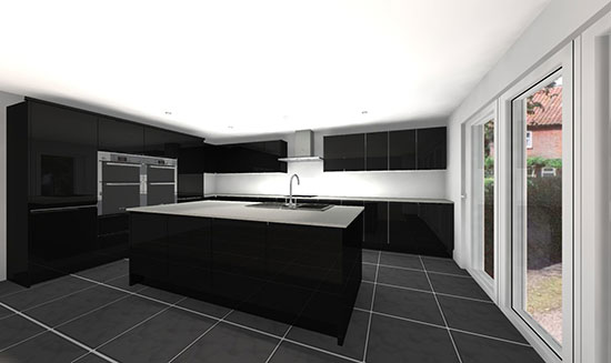 Applegate - kitchen perspective