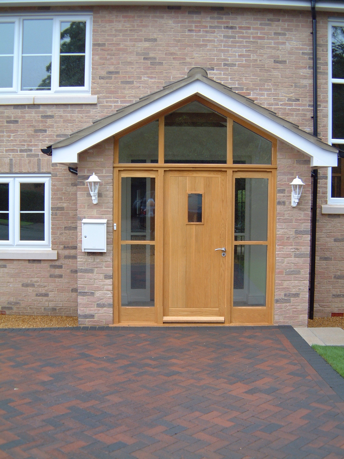 Glazed Screen Front Door